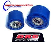 BLUE DRC SLOTTED CHAIN ROLLERS YZ125 YZ250 YZ250F YZ450F 01-16