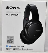 SONY MDR-ZX770BN Noise Cancelling Headphones Wireless Bluetooth Black