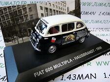 1/43 IXO Altaya Fahrzeuge epoche ITALIEN FIAT 600 Multipla kaffee HAUSBRANDT