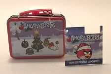 Mini Tin Lunchbox Angry Birds Christmas Ornament Rovio Entertainment Collectible
