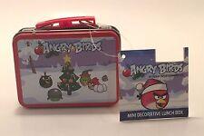 Mini Tin Lunchbox Angry Birds Christmas Ornament Rovio Entertainment Collectible