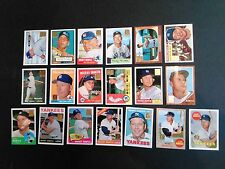 1996 Topps Mickey Mantle Commemorative set (1-19). A great set!