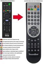 Télécommande De Rechange Convient Sony ht-ct800   ht-mt500   ht-mt501   ht-st5000