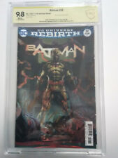 Batman (2016) # 22 3D Lenticular CBCS 9.8 Tom King Personal Collection Signed x2
