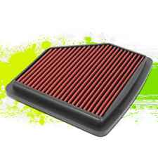 Washable High Flow Drop-In Intake Panel Air Filter Red for Honda HR-V 1.8L 16-19