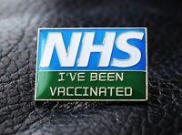 NHS I've been vaccinated Enamel Lapel Pin Badge medical nurse doctor 2021 UK