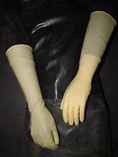 12 Paar,40 cm lange Latexhandschuhe,Gummihandschuhe,Clean,Ellenbogenlang,M/8