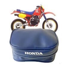 Honda Azul Herramienta Bolsa Bolsa Para Xr Modelos Guardabarros Trasero mudguardtrials Enduro Trail