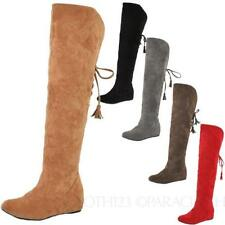 Wedge Suede Medium Width (B, M) Casual Boots for Women