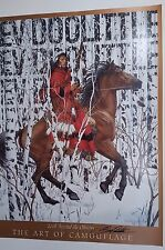 BEV DOOLITTLE, Art of Camouflage, TRULY Signed by artist