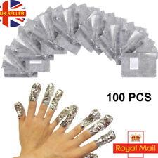 CLS 100 Nail Art Removal Foil Wraps