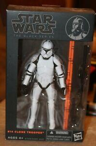 Hasbro Star Wars The Black Series #14 Clone Trooper 6 inch Action Figure