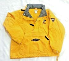 Vintage 90s Disney Store Classic Mickey Mouse Style Yellow Pullover Men's Large