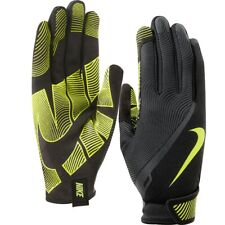 Nike Mens Lunatic Training Gloves Speed Full Finger Workout Sports Black Volt