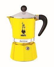 Bialetti 4983 Rainbow Induction Espresso Maker Percolator 6 Cups Yellow