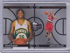396dafc45e13 KEVIN DURANT JERRYD BAYLESS 2008-09 TOPPS CO-SIGNERS SILVER FACE THE FACTS