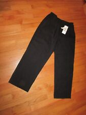 NEW Women's Alfred Dunner Black Stretch Elastic Waistband Dress Pants 12 28 x 26
