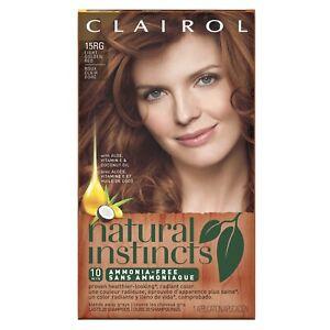 Clairol Natural Instincts 7GR Former 15RG Hair Color *Factory Sealed*