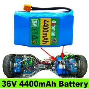 36V 4400mAh  Lithium Battery Pack For Balance Scooter Board