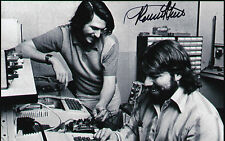 Ronald Wayne Signed Autographed 4x6 Inch Photo Apple Computer Founder Steve Jobs