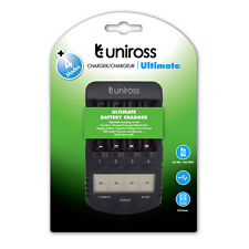 Uniross 1 H Ultimate INTELLIGENT AA/AAA SMART CARICABATTERIA