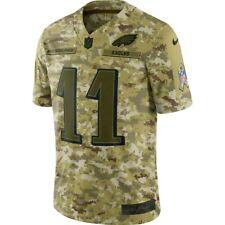 Nike Eagles Salute to Service Camo Jersey Carson Wentz #11 size's M, 3Xl - Ni7