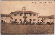 CARTOLINA d'Epoca - CASERTA provincia : Capua - COMANDO CAMPO AVIAZIONE 1918