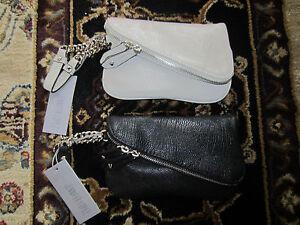 NWT Jennifer Lopez Dorene Diagonal Zip Mini Wristlet Purse Handbag $50