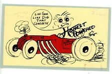 Vintage 1961 Honest Charley Water Slide Decal. Hot Rod,Drag Racing,Nhra