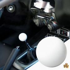 Universal Car Accessories Manual Gear Shifter Shift Lever Knob Cover Kit White