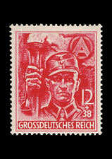 Framed Print - Nazi Germany Third Reich 1945 Red Stamp (Picture Poster Art)