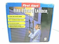 New First Alert El52-2 2 Two-Story Portable Fire Escape Safety Ladder Anti Slip