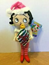 New ListingNwt Betty Boop Merry Messages Naughty Or Nice Christmas Elf Plush Doll Toy