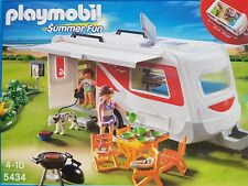 PLAYMOBIL 5434 Summer Fun Familien-Caravan 141-teilig Neu/Ovp