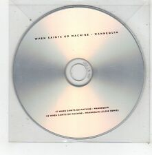 (FV505) When Saints Go Machine, Mannequin - DJ CD