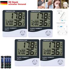 4X Digital TEMP Humidity Thermometer Hygrometer Luftfeuchtigkeitsmesser Funk DE
