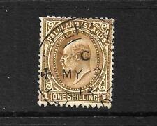 FALKLAND IS 1904  1/-   KEV11   FU  SG 48