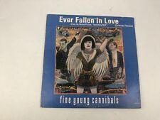 "Fine Young Cannibals Ever Fallen In Love 12"" Promo Single Buzzcocks Vinyl Record"