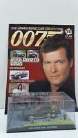 1/43 JAMES BOND 007 DIE CAST ALFA ROMEO GTV6 #73  MAGAZINE