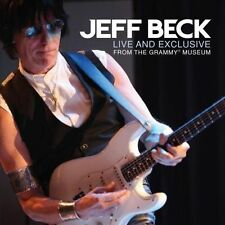 JEFF BECK  LIVE AND EXCLUSIVE FROM THE GRAMMY MUSEUM CD NEW
