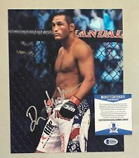 Dan Henderson Signed 8x10 UFC MMA Photo Autographed AUTO Beckett BAS COA