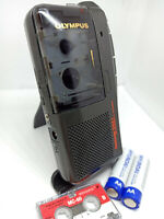 Olympus S927 MicroCassette Pearlcorder Voice Recorder Dictaphone Dictation Black