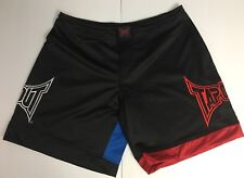 Tapout ~Shorts~ Martial Arts Boxing Black Blue Red Sz 34 Inyaface Nwt