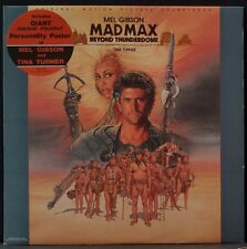 MAD MAX OST BY MAURICE JARRE TINA TURNER AUS PRESS EX COND 1ST PRES WITH POSTER