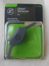 Littmann Stethoscope Identification Id Tag 40008 Grey New