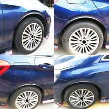 "4Pcs 28.7"" Universal Car Wheel Eyebrow Arch Trim Lips Fender Flares Protector"