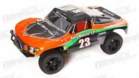 1/10 Exceed RC Electric Rally Monster Truck Short Course Off Road Carbon Orange