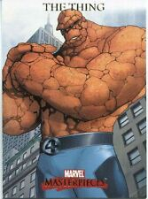 Marvel Masterpieces 2007 Base Card #85 The Thing