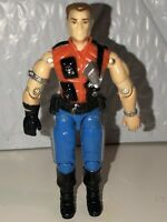 Hasbro Gi Joe Mercer v1 1987 Sgt. Slaughters Renegades ARAH Action Figure Vtg