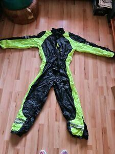 MERLIN Motorcycle Rain Over Suit Motorbike Waterproof MEN One Piece Yellow/Black
